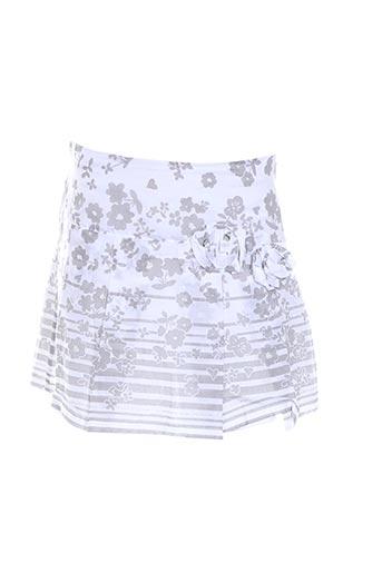 confetti jupes fille de couleur blanc