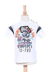T-shirt manches courtes blanc CATIMINI pour garçon seconde vue