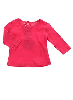T-shirt manches longues rouge ABSORBA pour fille