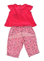 Top/pantalon rouge ABSORBA pour fille seconde vue