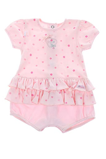 Combishort rose ABSORBA pour fille