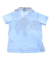 Polo manches courtes bleu ABSORBA pour garçon seconde vue