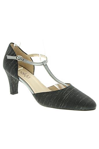 amaru chaussures femme de couleur gris