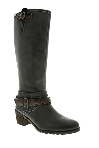 pikolinos chaussures femme de couleur gris