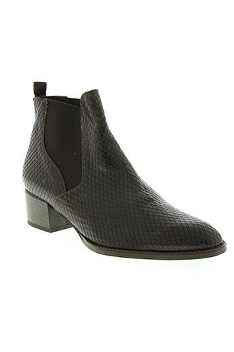 Bottines/Boots marron AMARU pour femme