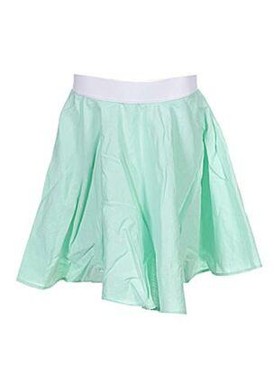 Jupe mi-longue vert APHELIOTE pour fille