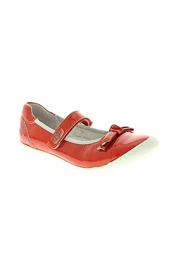 bana & co chaussures femme de couleur rouge