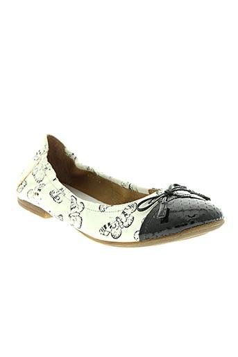 romagnoli chaussures fille de couleur noir