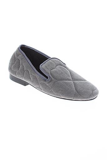 canat chaussures femme de couleur gris