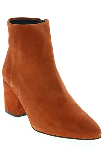 vero moda chaussures femme de couleur orange
