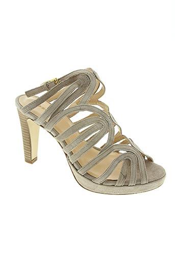 fosco chaussures femme de couleur gris