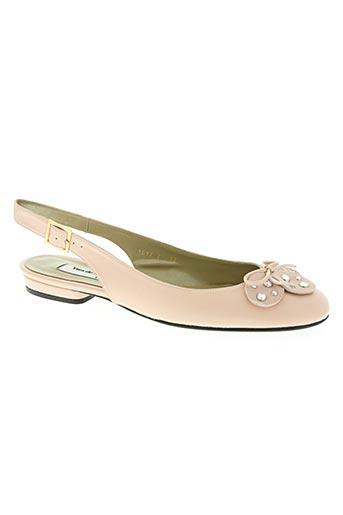 yves de beaumond chaussures femme de couleur rose