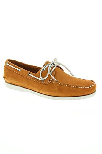 rockport chaussures homme de couleur orange