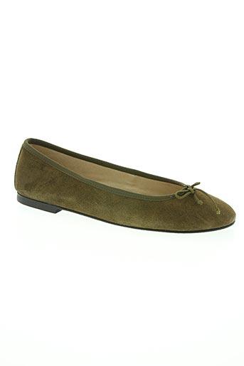 deisidro chaussures femme de couleur vert