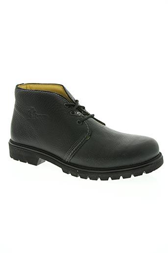 panama jack chaussures homme de couleur noir