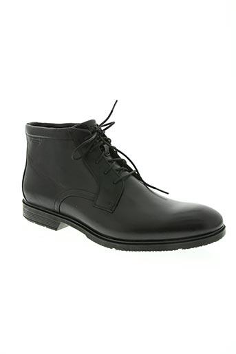 rockport chaussures homme de couleur noir