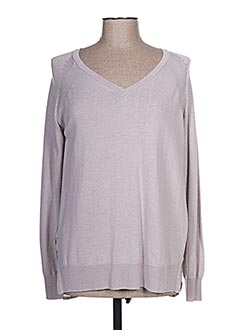 Pull tunique violet NICE THINGS pour femme