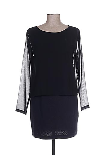 Robe courte noir CRISTINA GAVIOLI pour femme