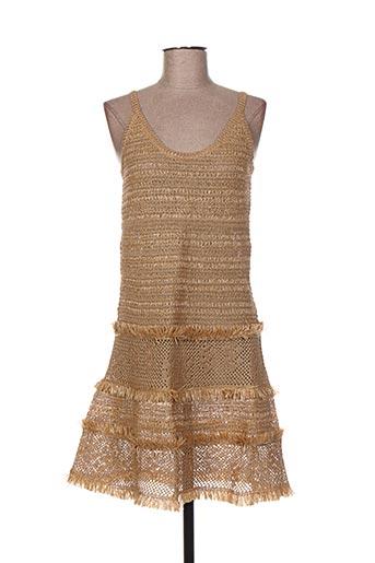 jacqueline coq robes femme de couleur beige
