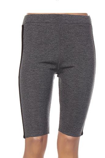 jacqueline coq shorts / bermudas femme de couleur gris