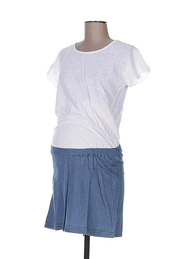 colline robes femme de couleur bleu