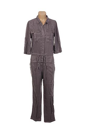 Combi-pantalon gris MARIE-SIXTINE pour femme
