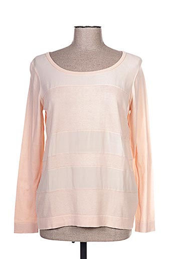 Pull col rond rose MARIE-SIXTINE pour femme
