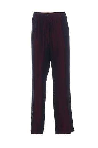 Pantalon chic violet CLAUDE BAUER pour femme