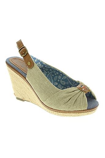 refresh chaussures femme de couleur beige