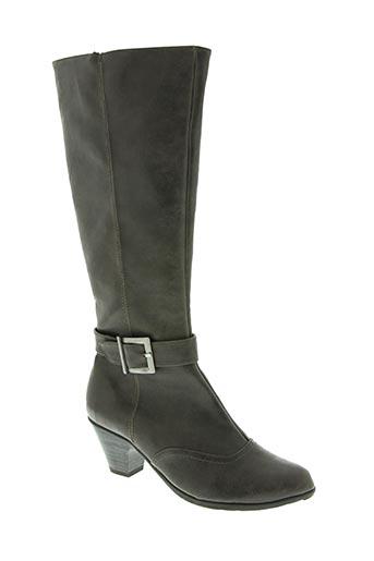 ashby chaussures femme de couleur gris