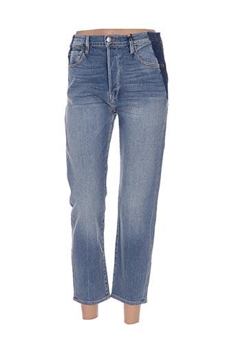 Jeans coupe slim bleu FRAME pour femme