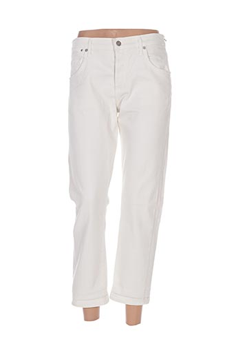 Pantalon 7/8 beige CITIZENS OF HUMANITY pour femme