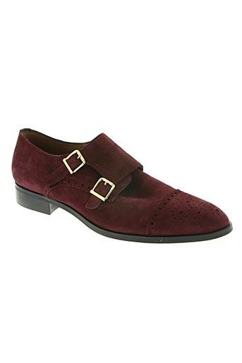 pertini chaussures femme de couleur rouge