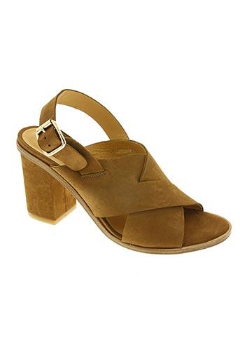 sixieme sens chaussures femme de couleur marron
