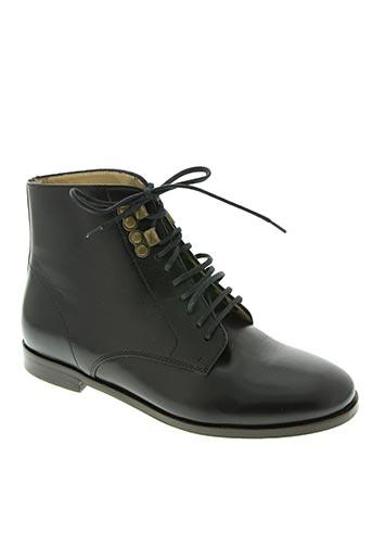 a.p.c. chaussures femme de couleur noir