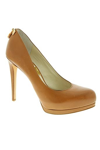 michael kors chaussures femme de couleur marron