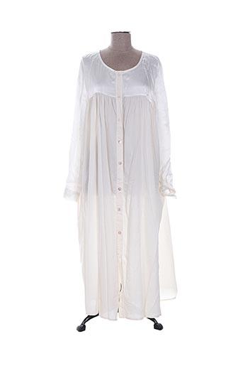johanna paris robes femme de couleur beige