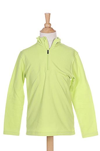 T-shirt manches longues vert CRAFT pour fille