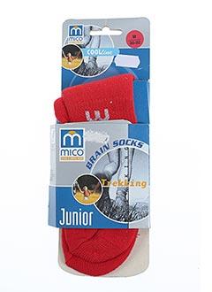 Chaussettes rouge MICO pour enfant