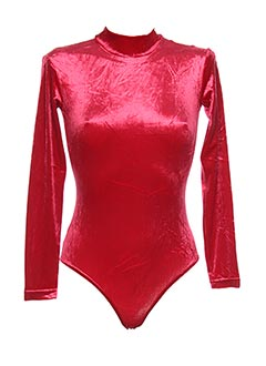 Body rouge TEENFLO pour femme