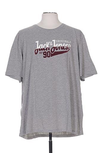 jack & jones t-shirts homme de couleur gris