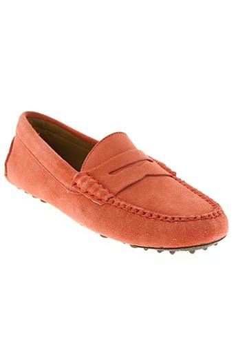 fairmount chaussures femme de couleur rouge