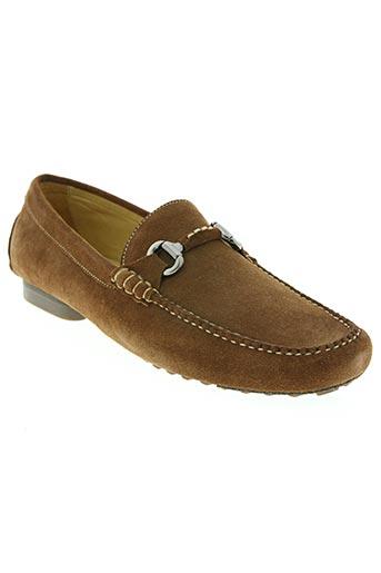 fairmount chaussures homme de couleur marron