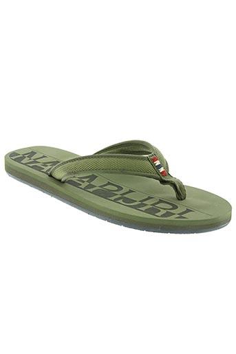 napapijri chaussures femme de couleur vert
