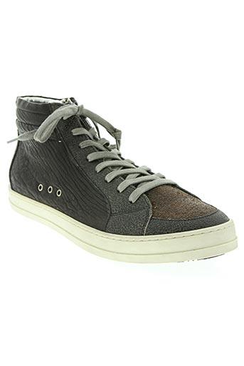 p448 chaussures homme de couleur marron