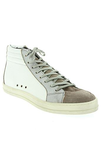 p448 chaussures homme de couleur blanc