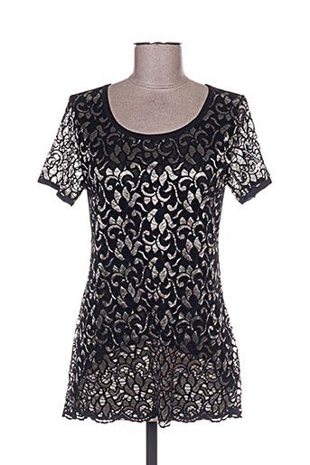 janira chemises femme de couleur noir