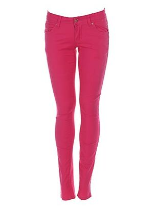 Pantalon casual rose D.CHERRI pour femme