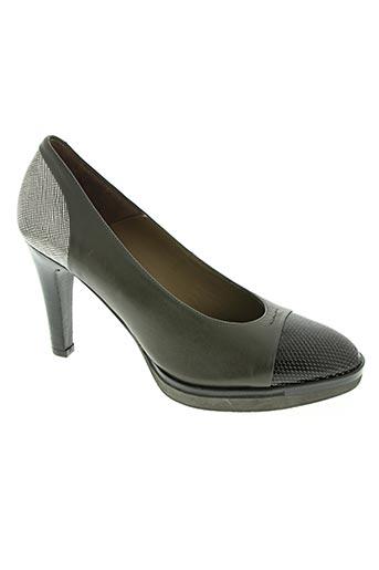 zinda chaussures femme de couleur gris