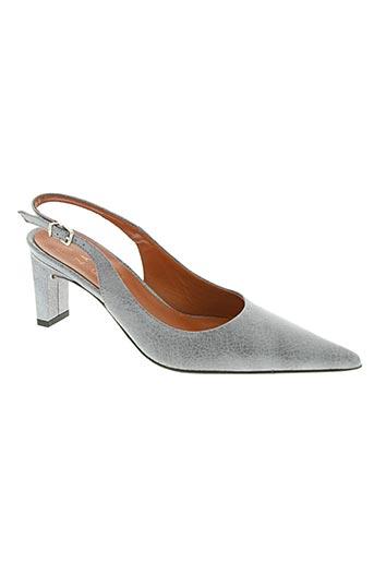 elizabeth stuart chaussures femme de couleur gris
